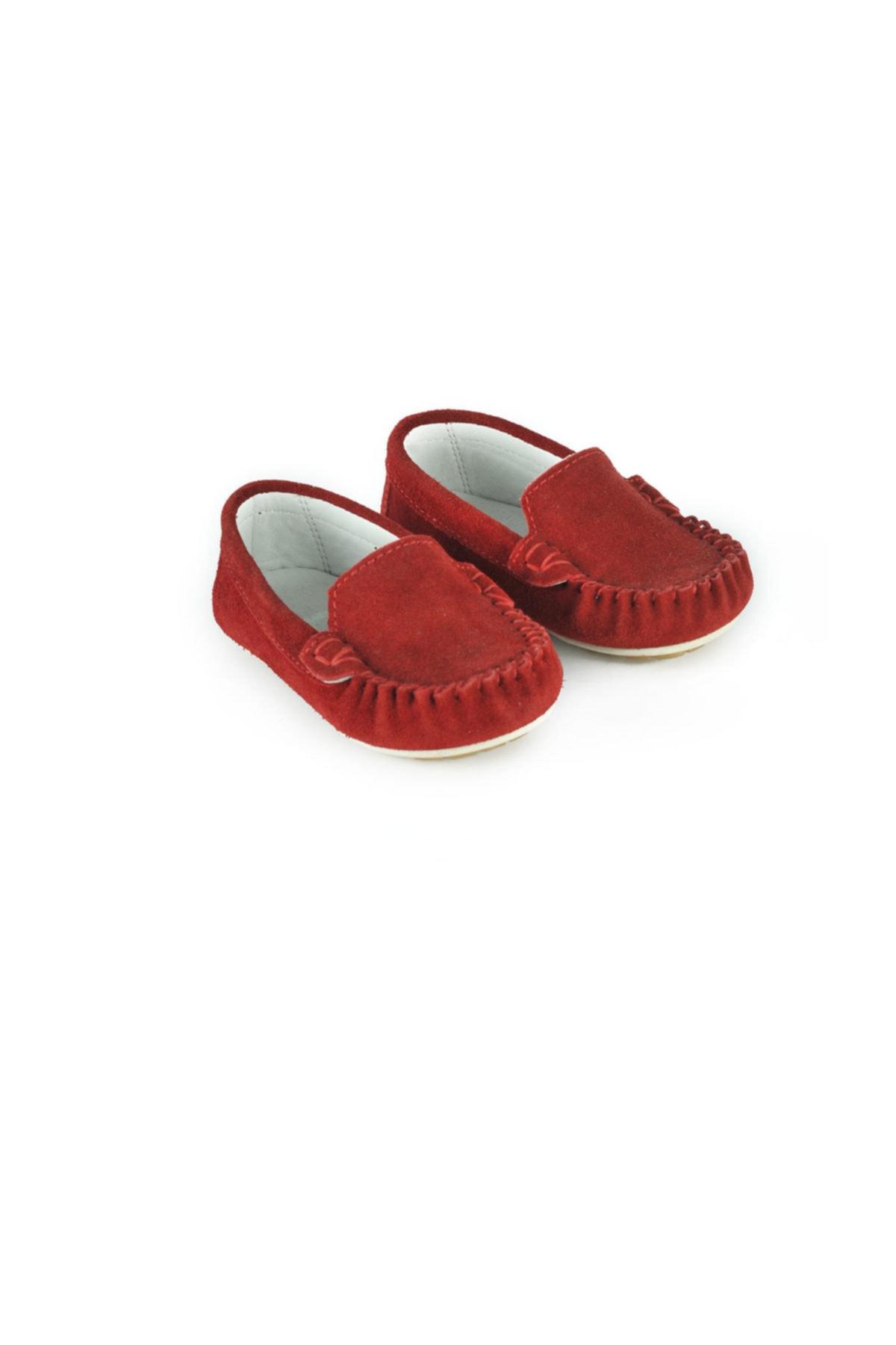 Loafer Kırmızı Kız Çocuk Ayakkabı