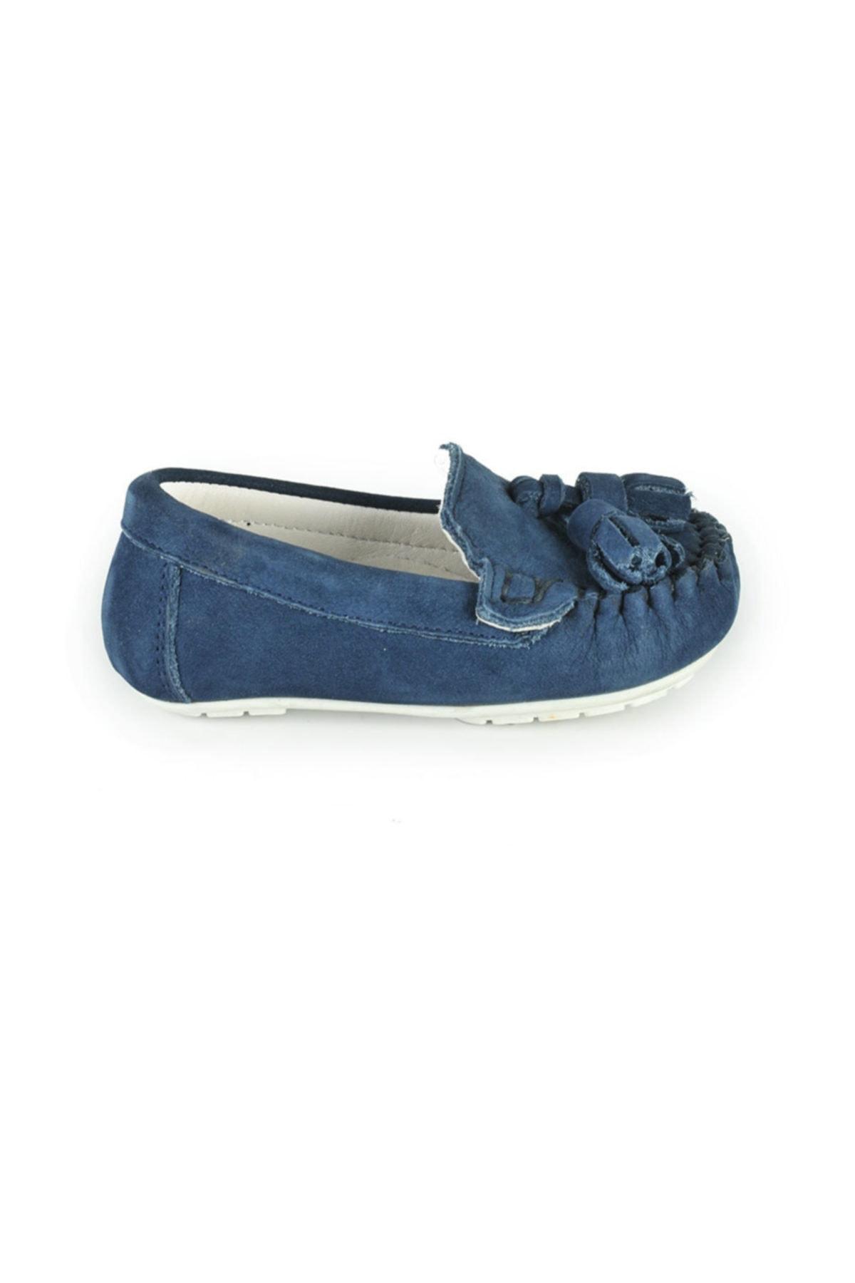Loafer Lacivert Kız Çocuk Ayakkabı