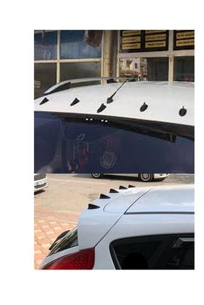 AutoFresh Toyota Prius Balık Sırtı Süs Anten - Tavan Jaws Model Tuning Anten 5li Yapışkanlı Anksesuar 0