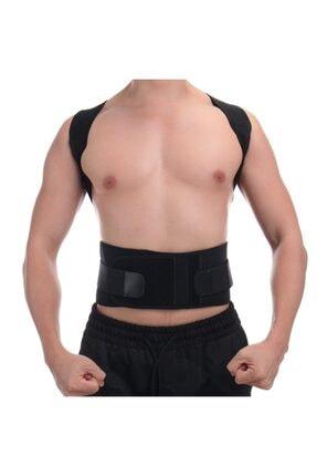 Ecoform Kanburluk Önleyici Ayarlanabilir Posturex Manyetik Medikal Ortopedik Dik Duruş Korsesi 0