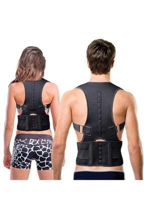 Ecoform Kanburluk Önleyici Ayarlanabilir Posturex Manyetik Medikal Ortopedik Dik Duruş Korsesi 4