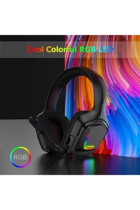 Onikuma K20 Rgb Kulak Üstü Oyuncu Kulaklıgı - Siyah 1