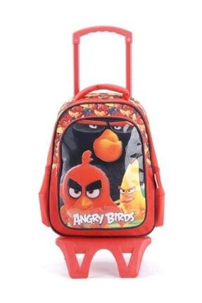 Hakan Çanta Çanta Angry Birds 87897 Lisanslı Okul Çantası Seti 0