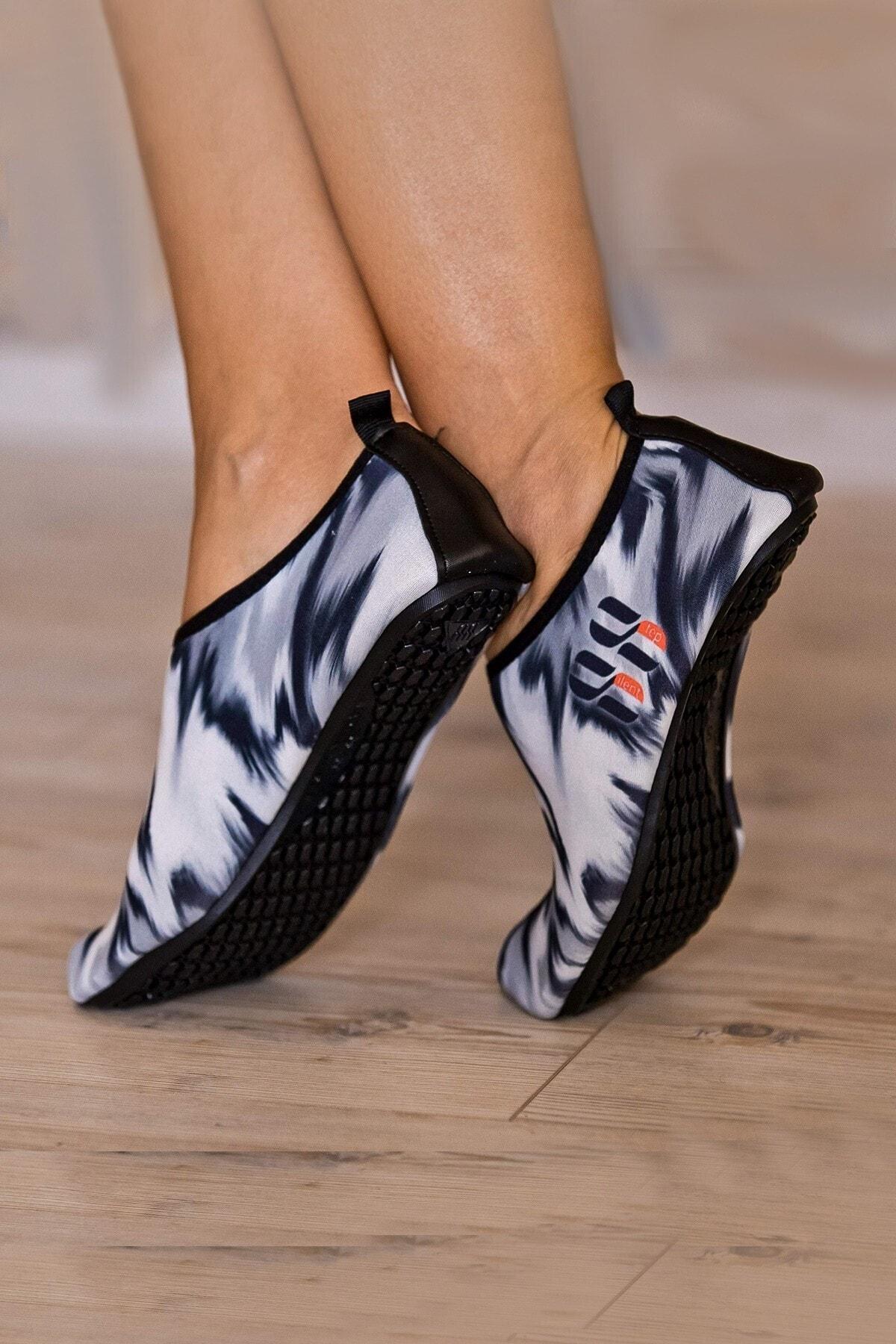 Sporting Siyah Beyaz Plaj/deniz Ayakkabısı