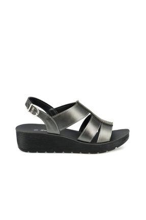 Polaris 315565.Z Antrasit Kadın Sandalet 100508001 1