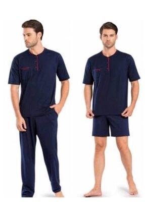 Pierre Cardin 5370 Pijama Şort 3 Lü Damat Çeyiz Seti 1
