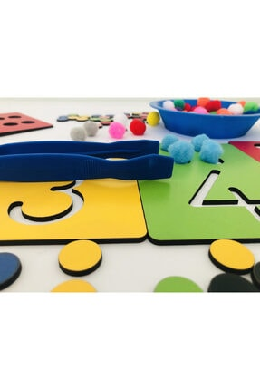 Okhool Montessori Rakam Öğrenme Seti 3