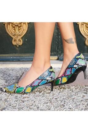 LuviShoes Kadın Renkli Günlük Ayakkabı 3