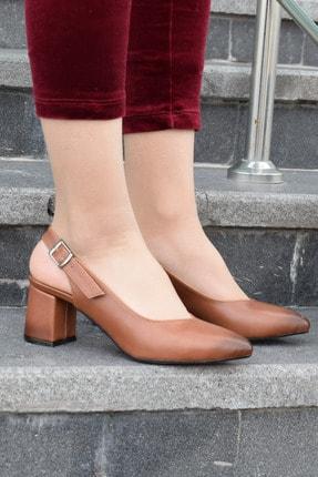 SWELLA Kahverengi Kadın Topuklu Ayakkabı 1