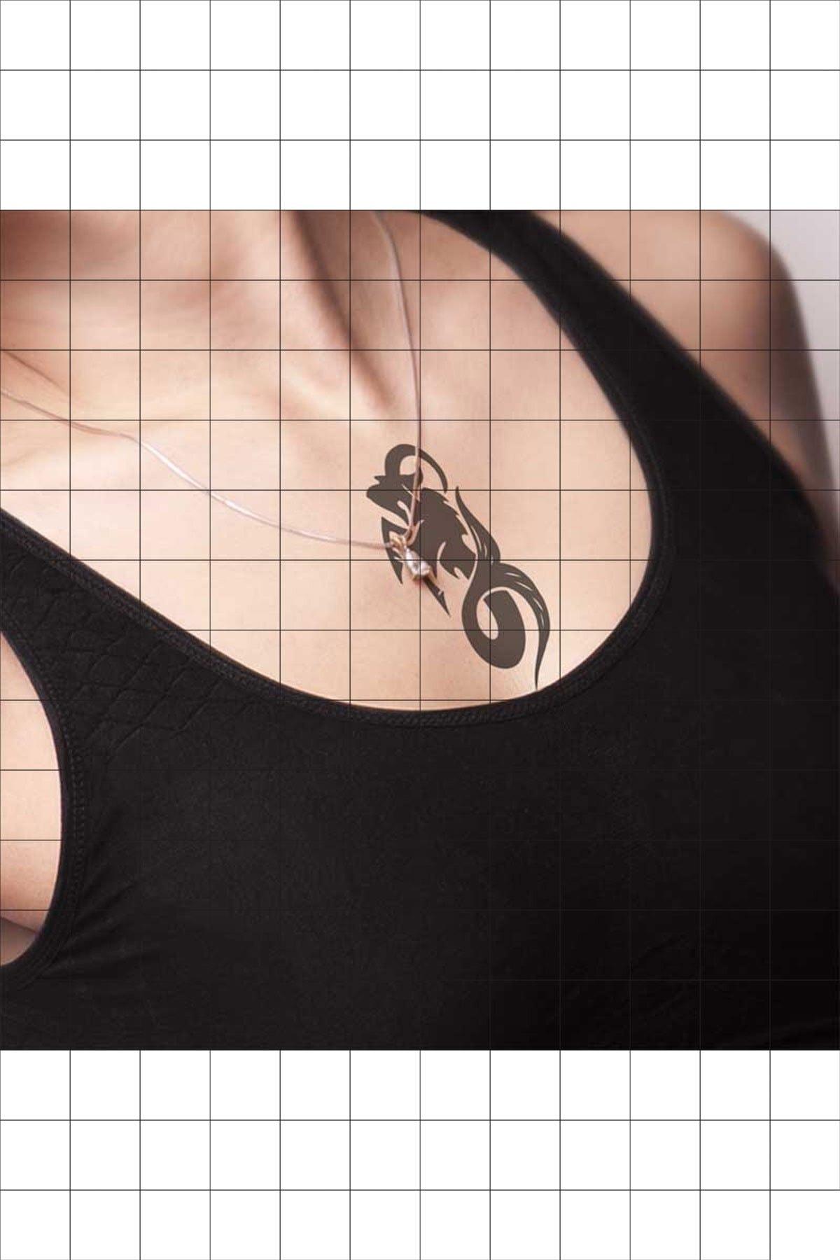 TatFast Deniz Yaratığı 1043 Geçici Dövme Flash Tattoo 1