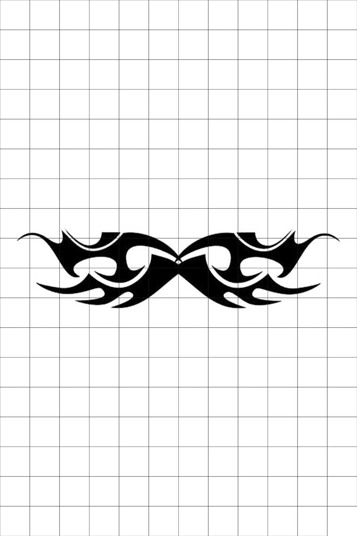 TatFast Kanat 1186 Geçici Dövme Flash Tattoo 0
