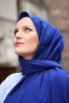 Stella Medine Ipeği Şal Saks Mavi 2