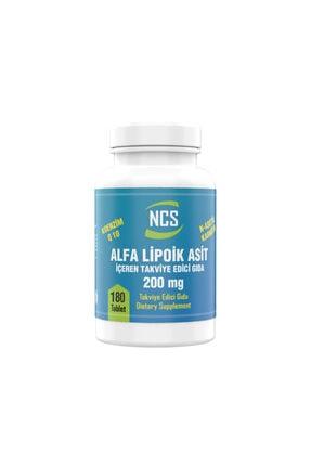 Ncs Alpha Lipoic Acid 200 mg Coenzyme Q10 100 mg 180 Tablet 0