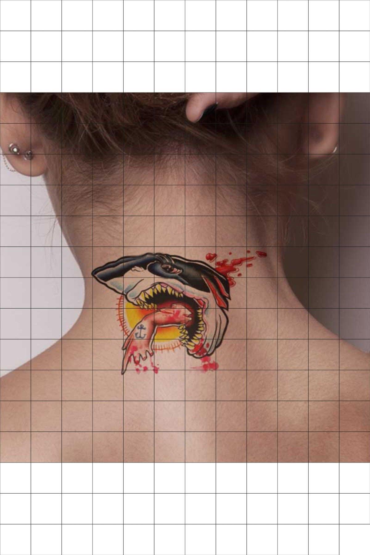 TatFast Deniz Yaratığı 640 Geçici Dövme Flash Tattoo 1