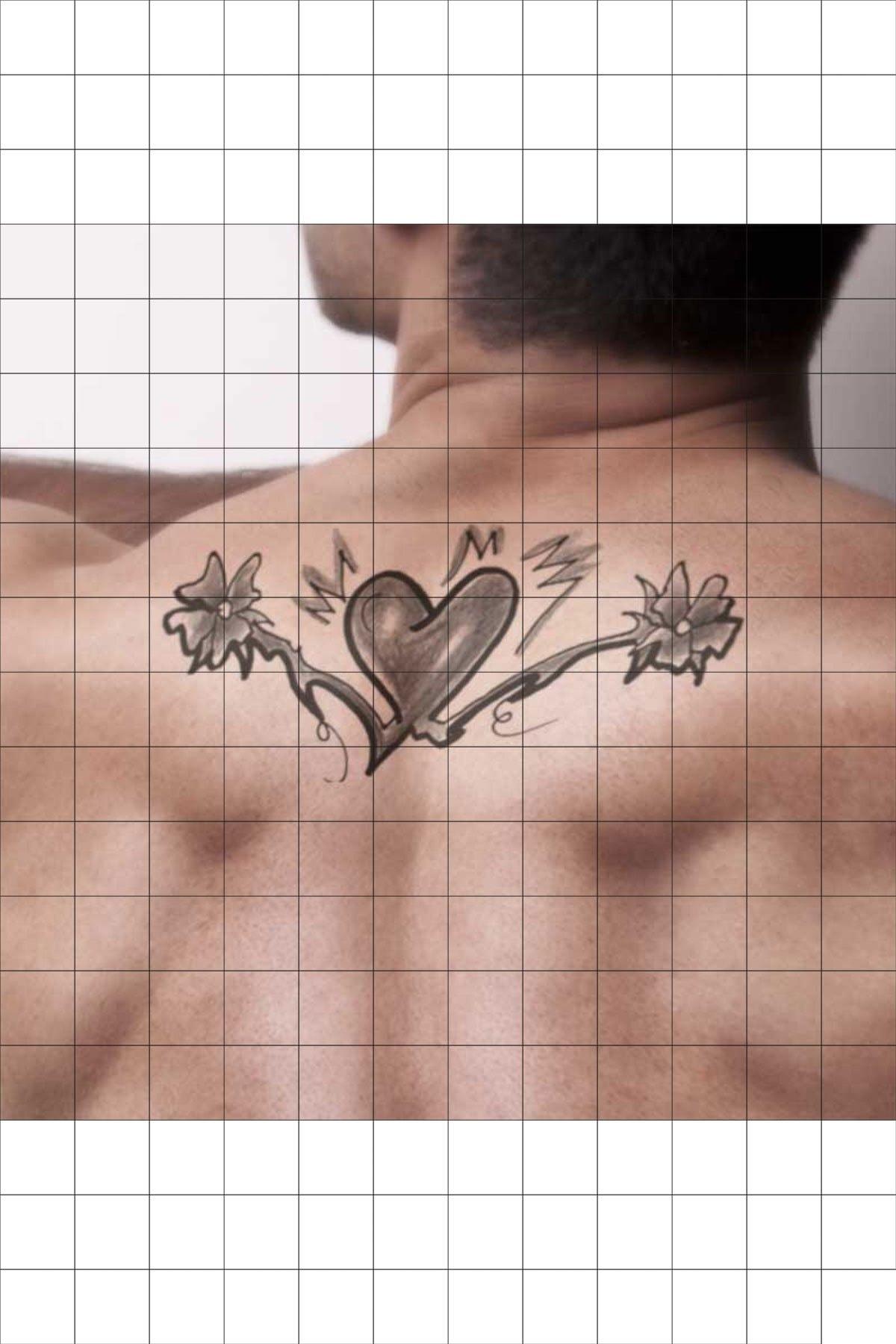 TatFast Çiçek 3079 Geçici Dövme Flash Tattoo 1