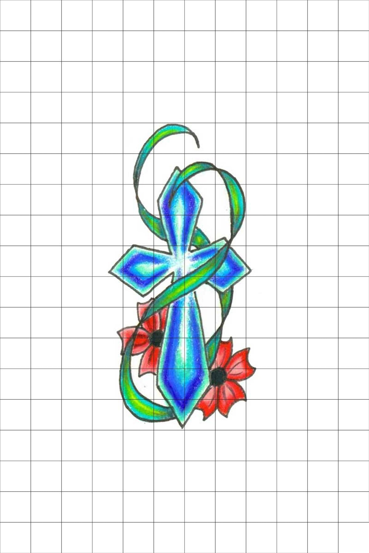 TatFast Dini 12 Geçici Dövme Flash Tattoo 0