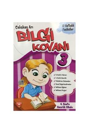 Çalışkan Arı Yayınları 3. Sınıf Bilgi Kovanı Tatil Kitabı 0