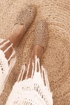 Shoe Miss Lola Hasır Terlik 0