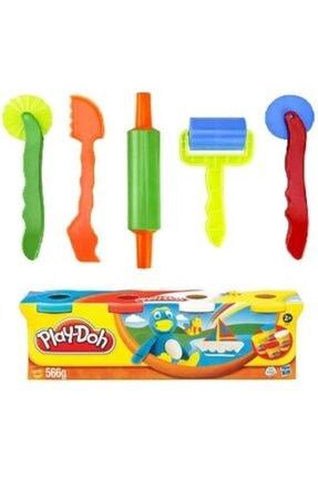 Play Doh Oyun Hamuru Kalıbı Merdane Seti Ve Orjinal Oyun Hamuru 2li Set 0
