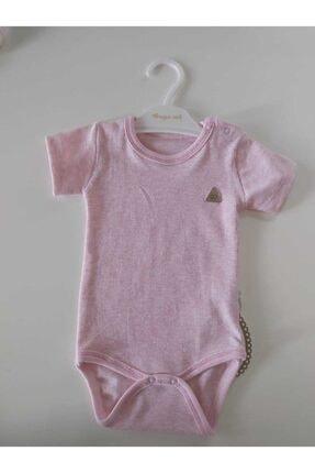 Kız Bebek Zıbın Pembe Çizgili PEMBE 0032
