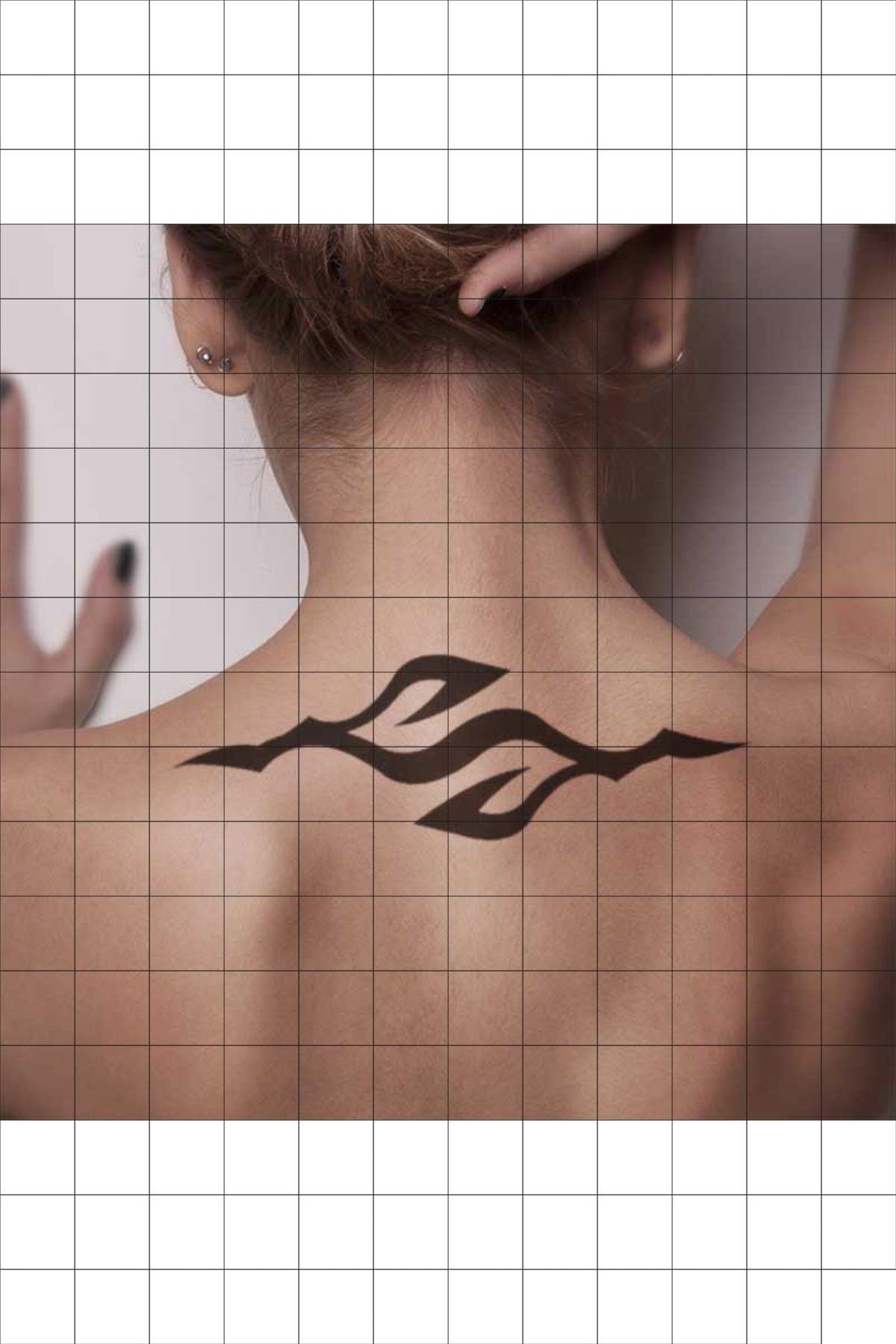 TatFast Kol Bandı 696 Geçici Dövme Flash Tattoo 1