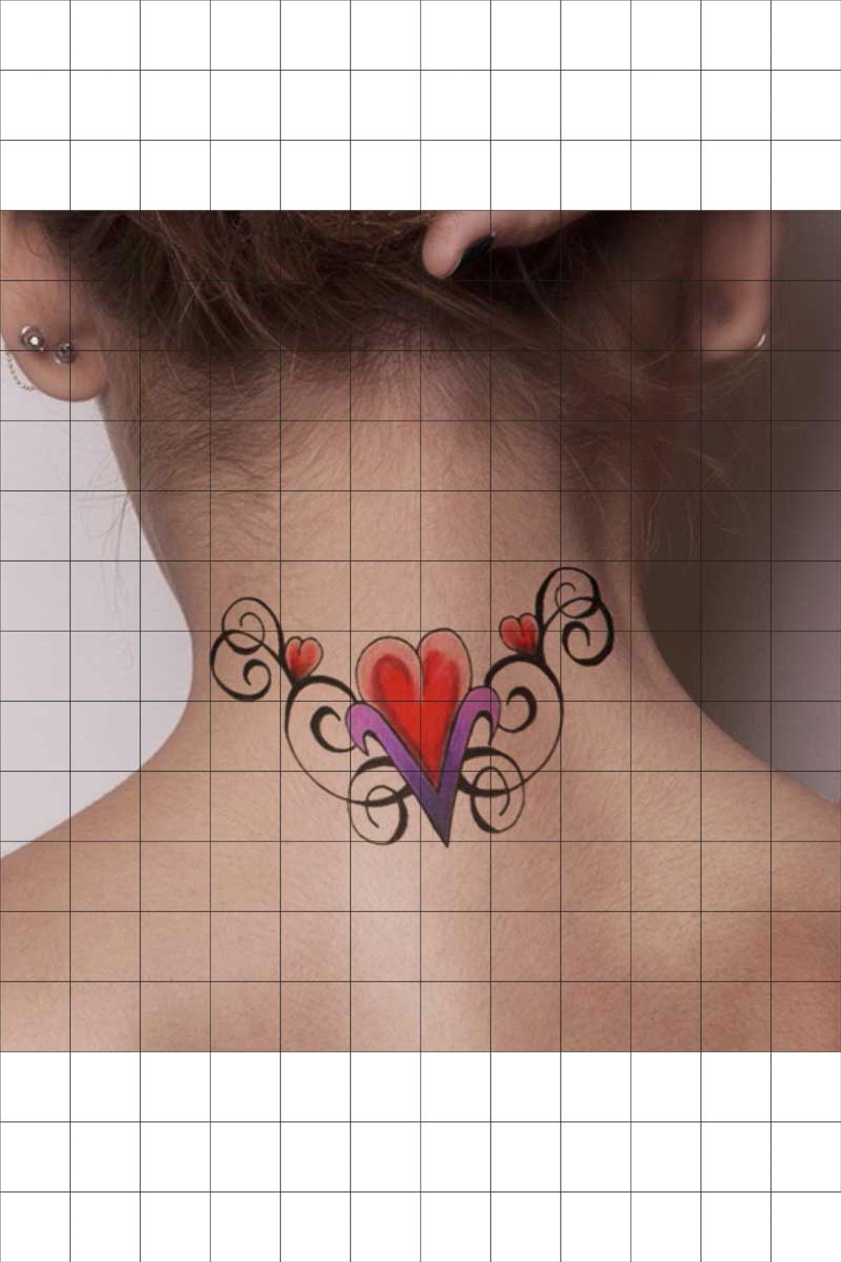 TatFast Koç 38 Geçici Dövme Flash Tattoo 1