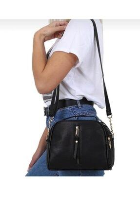 Aryen Girişim Siyah Omuz Askılı Kadın Çanta 4