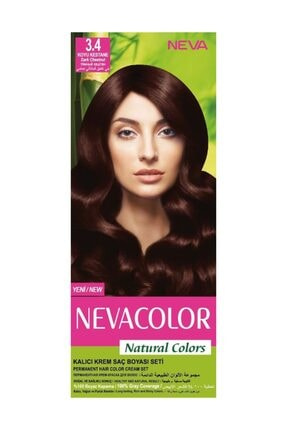 Neva Color Colors Kalici Sac Boya Seti 4 7 Turk Kahvesi Trendyol