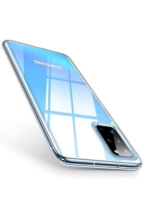 Ally Mobile Samsung Galaxy S20+ Plus Kamera Korumalı Silikon Kılıf Şeffaf 0