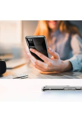Ally Mobile Samsung Galaxy S20+ Plus Kamera Korumalı Silikon Kılıf Şeffaf 1