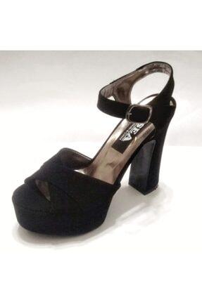 Silver Seapabuc Pilatformlu Kalın Topuk Abiye Ayakkabı 0
