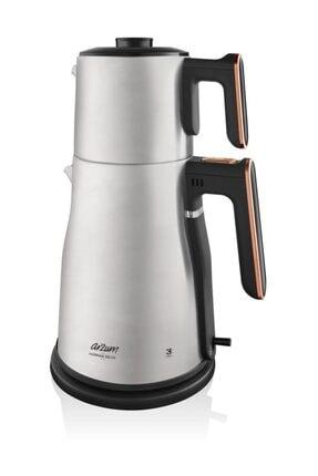 Arzum AR3059 Harman Delux Çay Makinesi - Bakır 0