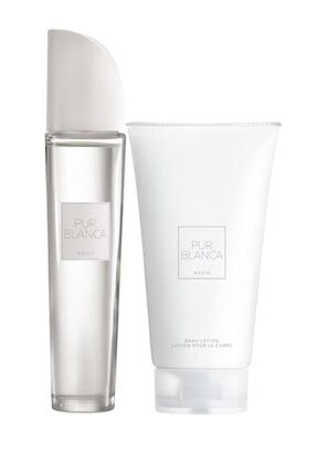 Avon Pur Blanca Kadın Parfüm Edt 50 ml. Pur Blanca Vücut Losyonu 150 ml. 5050000010948 0