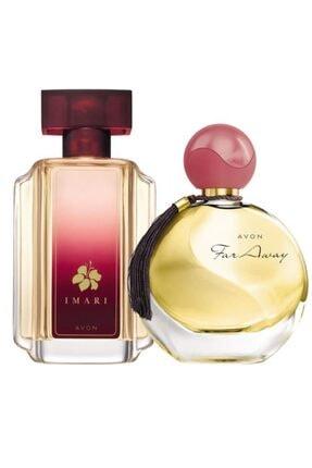 Avon Kadın Far Away  Parfüm Edp 50 ml +  Imari Eau de Toilette Kadın Parfüm 50 ml Parfüm Seti 0