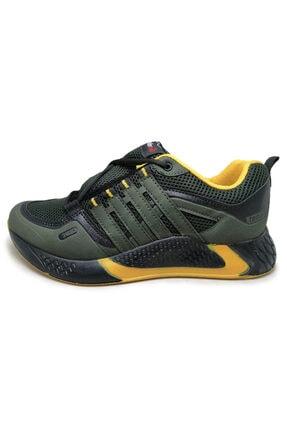 Beyken Ayakkabı Beyken Terrano Rahat Ortopedik Taban Erkek Günlük Haki Spor Ayakkabı 1