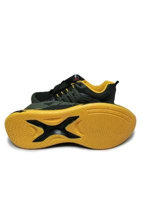 Beyken Ayakkabı Beyken Terrano Rahat Ortopedik Taban Erkek Günlük Haki Spor Ayakkabı 2