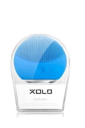 Xolo Mavi Şarj Edilebilir Silikon Yüz Temizleme Cihazı ve Masaj Aleti - 8816581011692 0