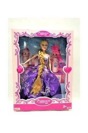 Barbie Prenses Uzun Saçlı Et Bebek 0