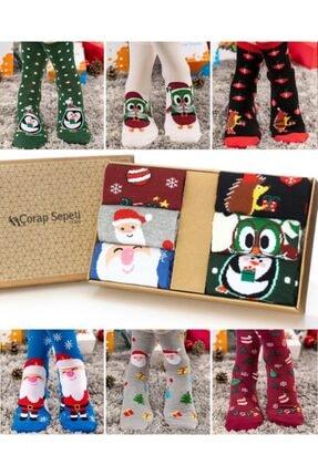 Socks Concept 6lı Kutu Neşeli Soket Çorap Pkt62 0