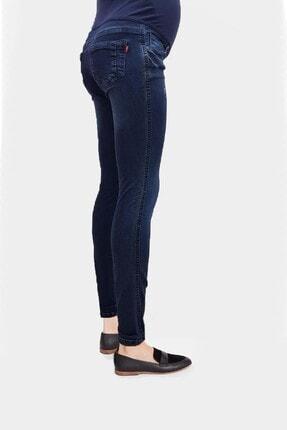 Gaiamom Mavi Beli Lastikli Hamile Skinny Jeans 2