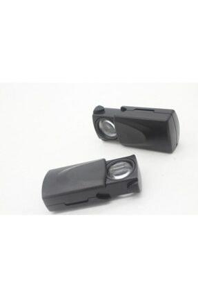 Paltava CTN Taşınabilir 30x 21mm Çekme Tipi Işıklı Büyüteç,mini Cep Büyüteç 1