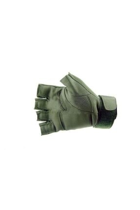 REEBOW TACTICAL Tactical Askeri Kesik Parmak Kemik Eldiven Operasyon Eldiveni Haki 2