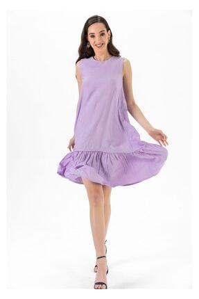 Tiffany A0263 Keten Salaş Elbise 4