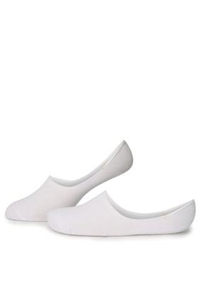 Pierre Cardin Erkek Beyaz Babet Çorap 0