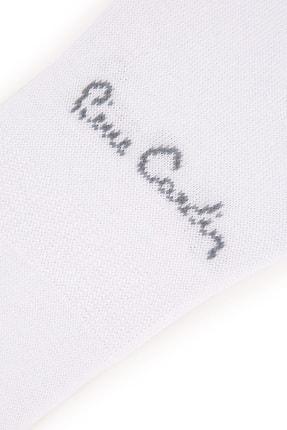 Pierre Cardin Erkek Beyaz Babet Çorap 3