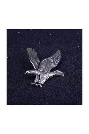 Kravatistan Kartal Yaka İğnesi Silver-622581 1
