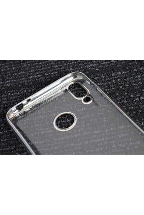 Zore Huawei Honor 8c Kılıf Dört Köşeli Lazer Silikon 2