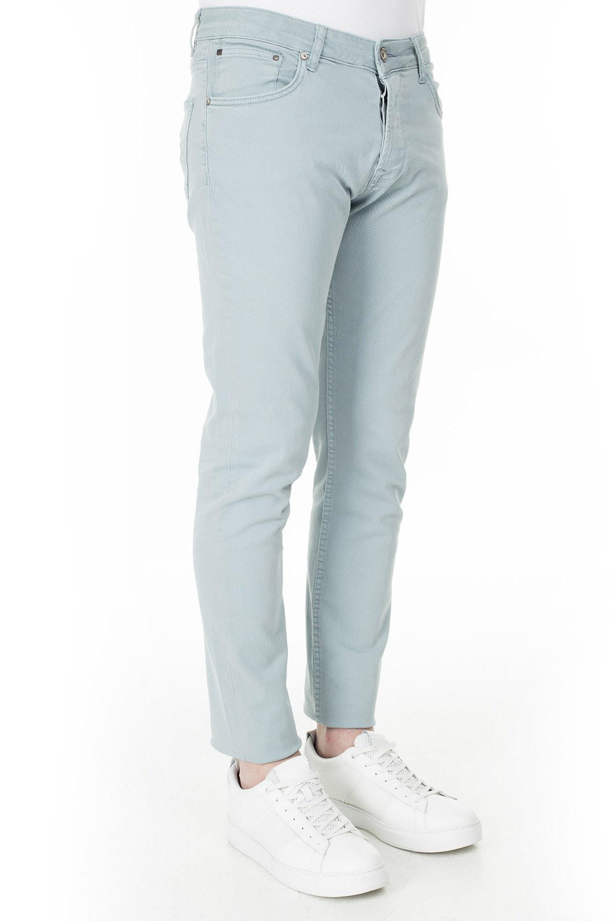 Buratti Erkek AÇIK MAVİ Normal Bel Dar Paça Slim Fit Jeans Pamuklu Kot Pantolon 7299F0287ARTOS 1