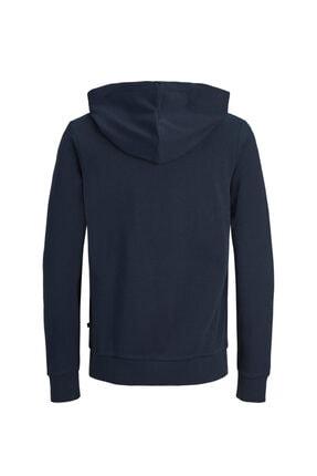 Jack & Jones Sweatshirt - Holmen Sweat Zip Hood 12136884 2