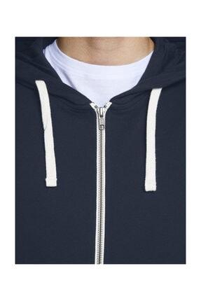 Jack & Jones Sweatshirt - Holmen Sweat Zip Hood 12136884 4